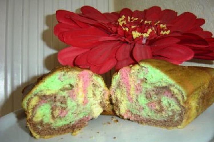 Cake arc-en-ciel