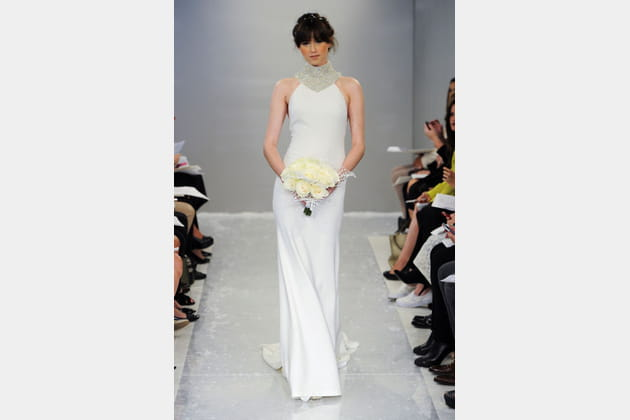 La robe plastron Theia