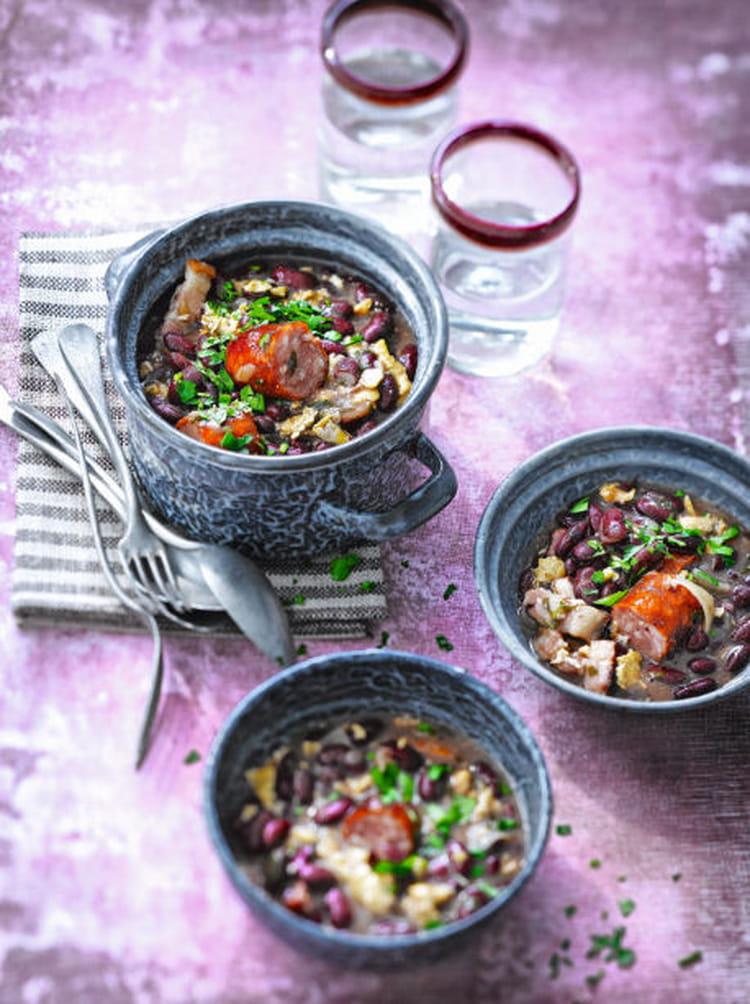 Recette de rago t de haricots rouges feij o tropeiro - Cuisiner haricot rouge ...