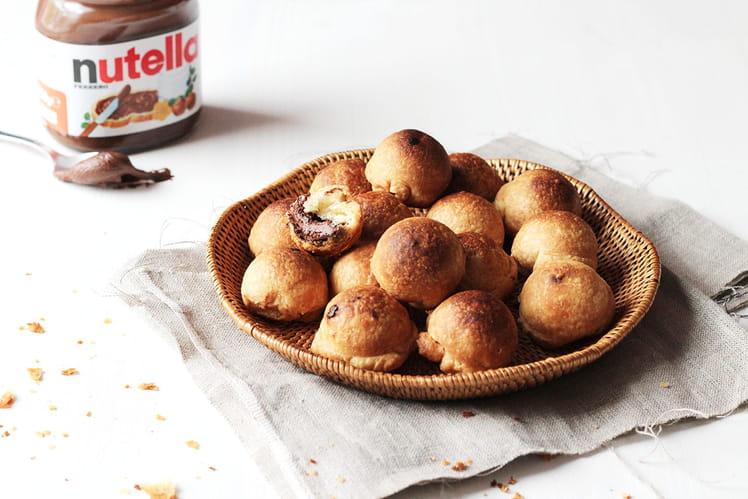Bonbons feuilletés au Nutella