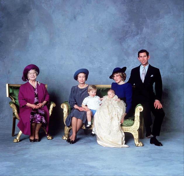 Le baptême du prince Harry