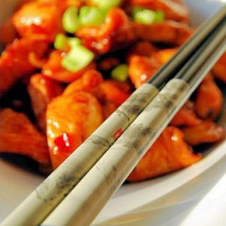 poulet à la citronnelle façon vietnamienne
