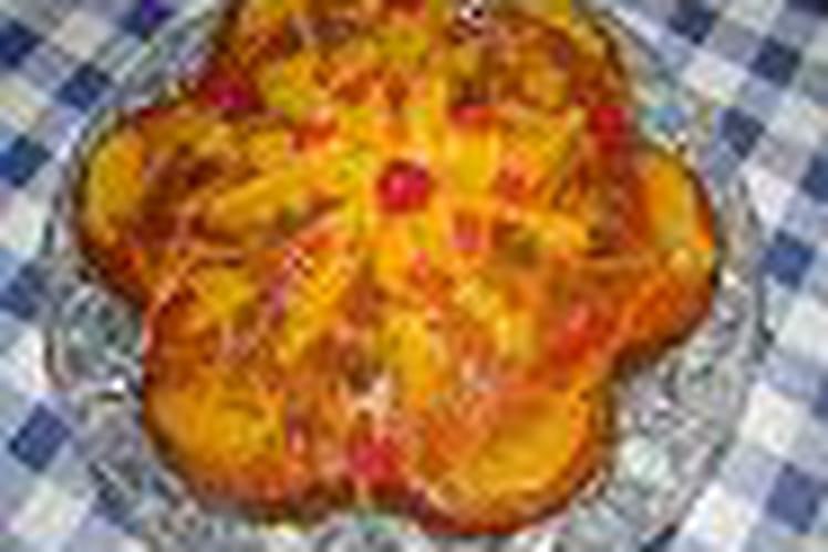 Fondant à l'orange et au rhum