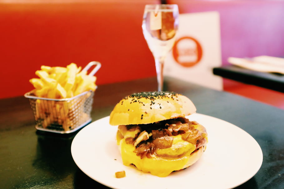 Burger et Champagne : duo gagnant
