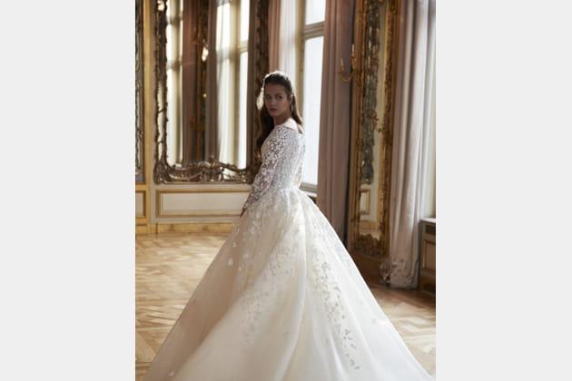 Robe de mariée de princesse, Elie Saab