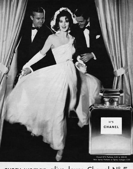 La campagne Chanel N°5de 1957