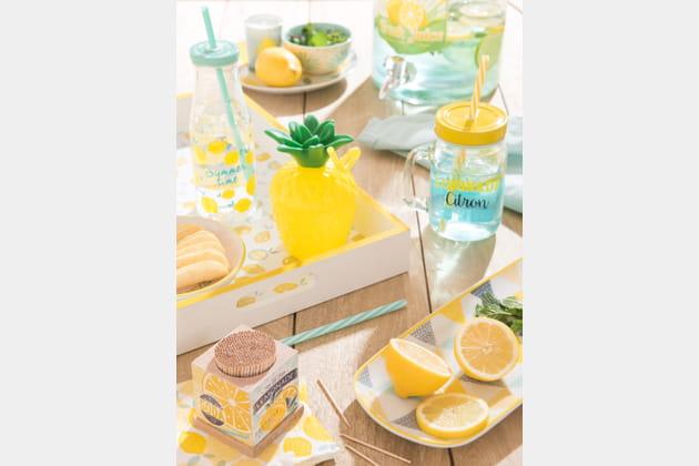Ambiance Mint & Lemon de Maisons du Monde