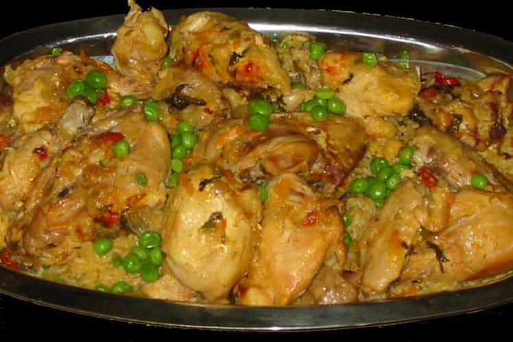 Poulet au riz