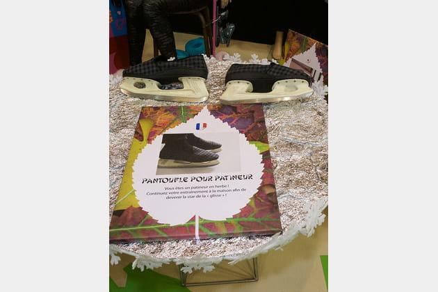 Pantoufles pour patineur