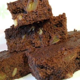 dark brownies abricots secs et noix