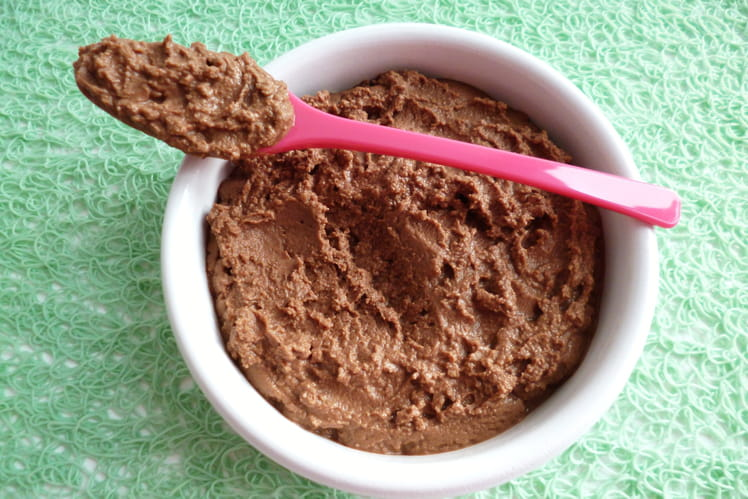Dessert végan cacaoté saveur noix de pécan aux protéines de tournesol