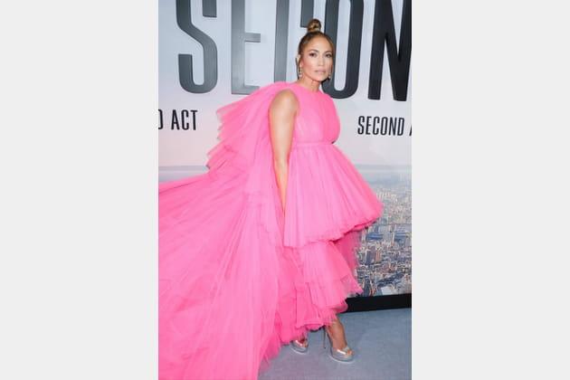Jennifer Lopez à la première de Second Act