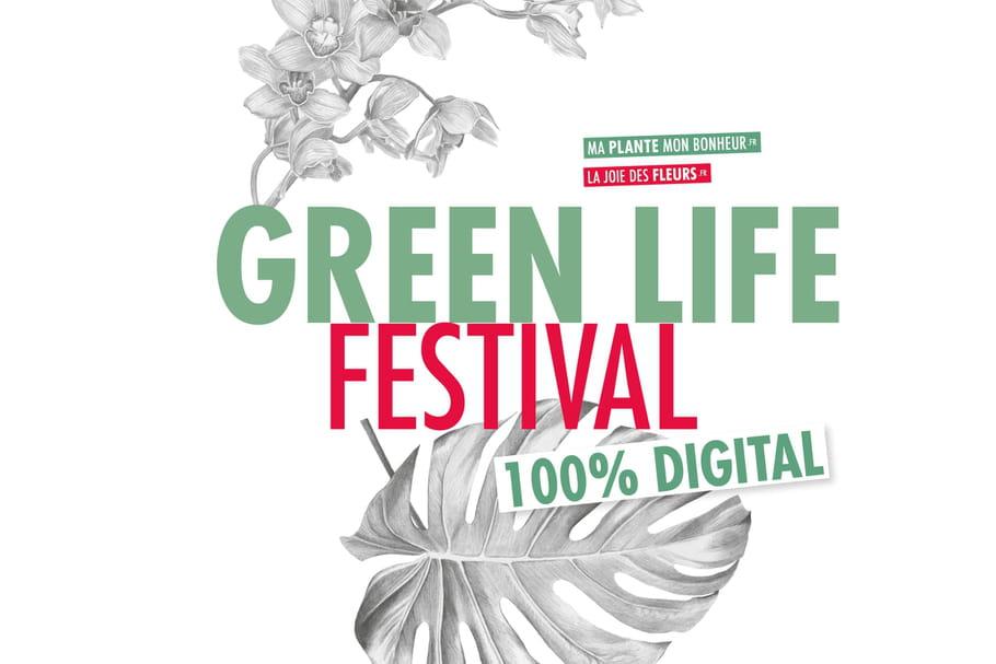 Green life festival: un événement fleurs et plantes 100% digital