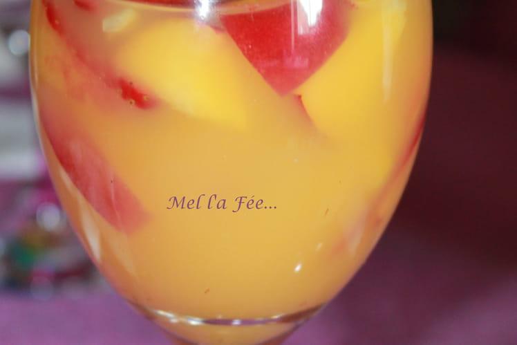 Recette de cocktail rhum p che la recette facile for Rhum pour cuisiner