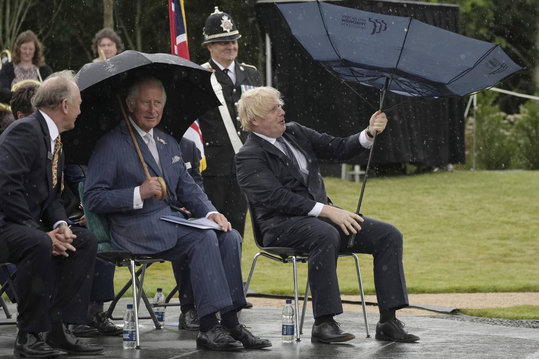 Prince Charles se moque de Boris Johnson -VIDEO virale