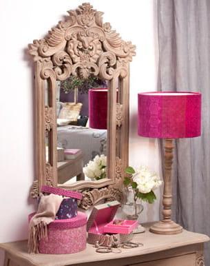 Sculpture en bois for Jardin d ulysse miroir