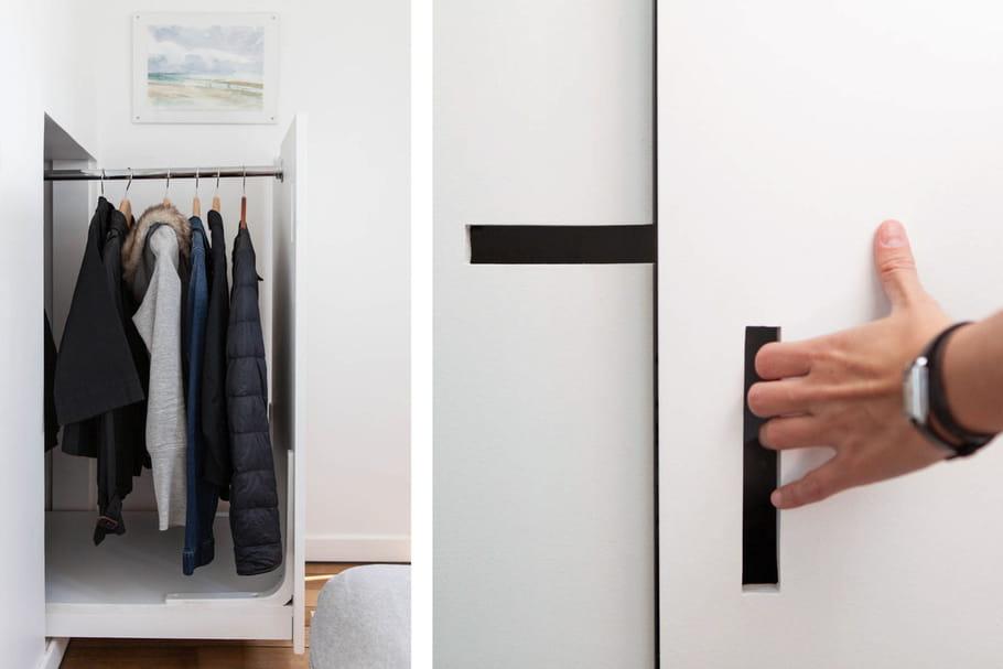 des astuces pour le rangement petit espace un chouette nid sous les combles journal des femmes. Black Bedroom Furniture Sets. Home Design Ideas