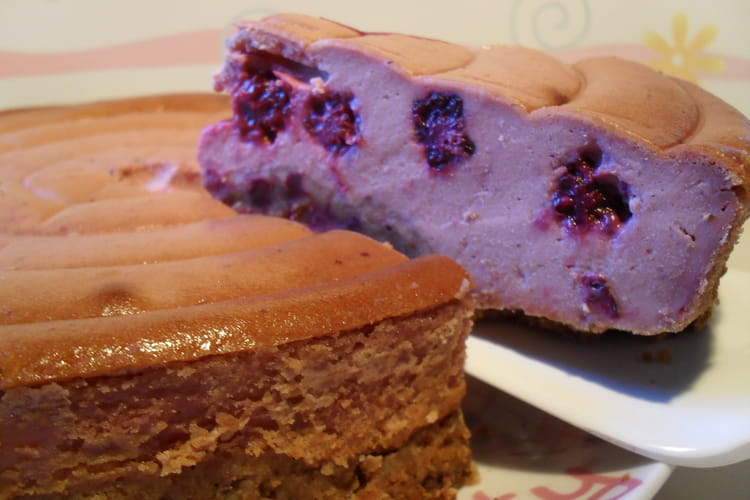 Cheesecake aux mûres