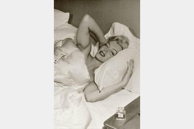 Marilyn Monroe et N°5en 1953