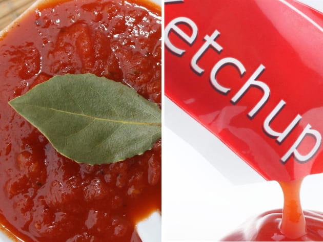 Ketchup ou sauce tomate ?