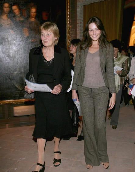 Carla Bruni et sa mère Marisa Borini
