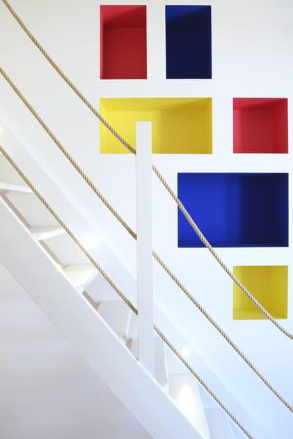 Des niches façon Mondrian