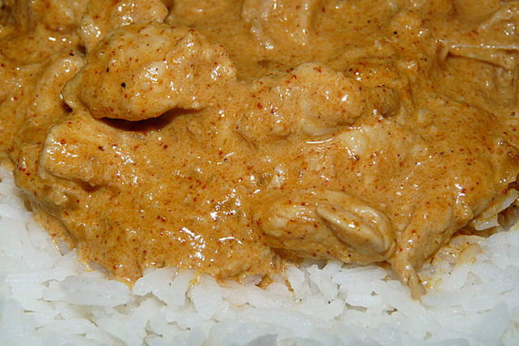 Poulet Tandoori en sauce