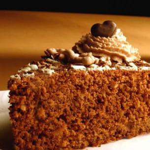 gâteau doux au chocolat et à l'huile d'olive