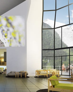 deep nature spa chamonix by algotherm