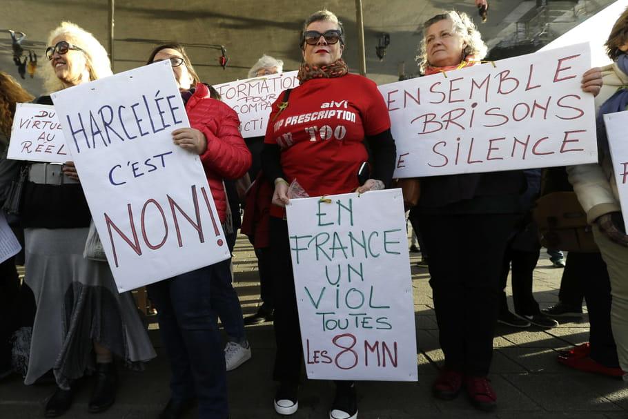 Violences sexuelles: les célébrités interpellent Macron