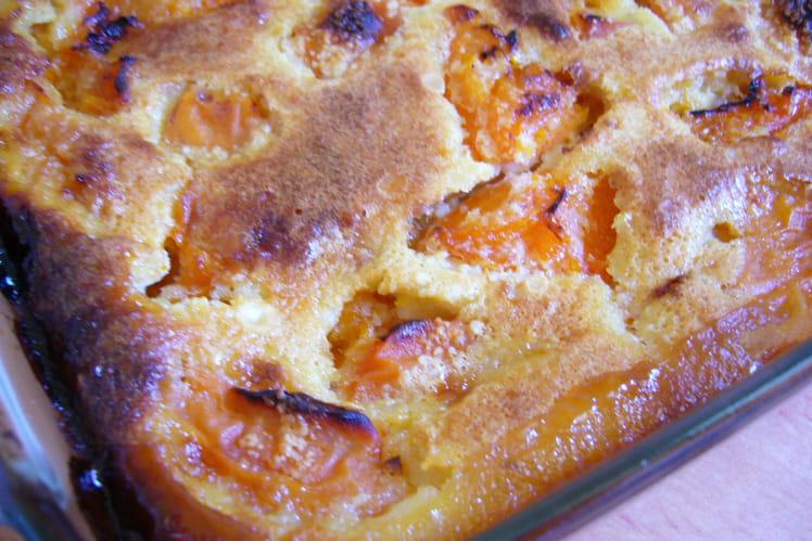 Clafoutis aux amandes et abricots