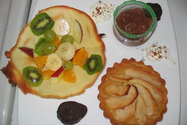 Farandole de petits desserts