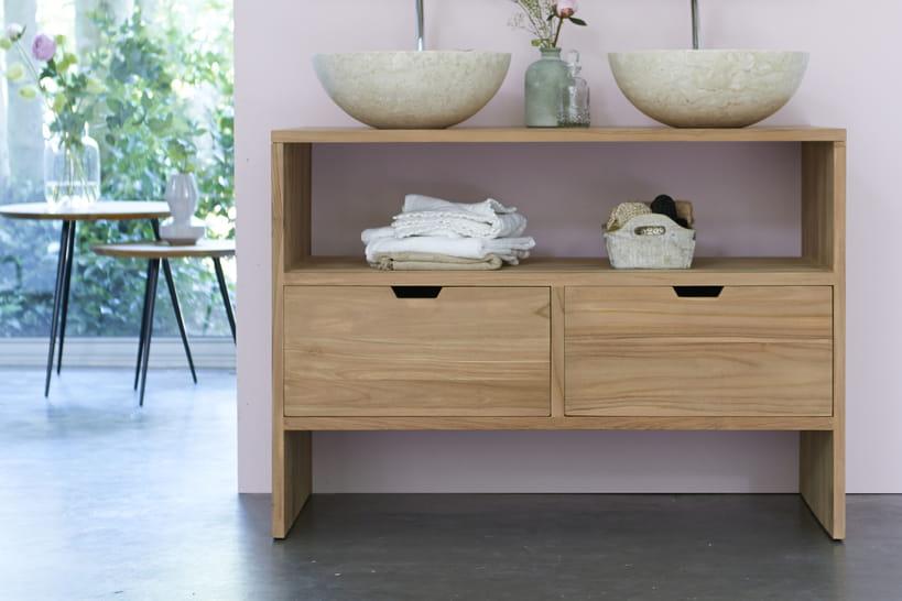 Un nouveau meuble pour ma salle de bains for Ou trouver meuble salle de bain