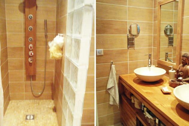 la salle de bains de linda apr s. Black Bedroom Furniture Sets. Home Design Ideas
