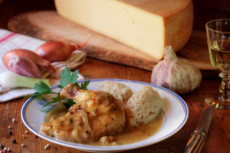 Suprêmes de poulet, sauce à la Raclette de Savoie