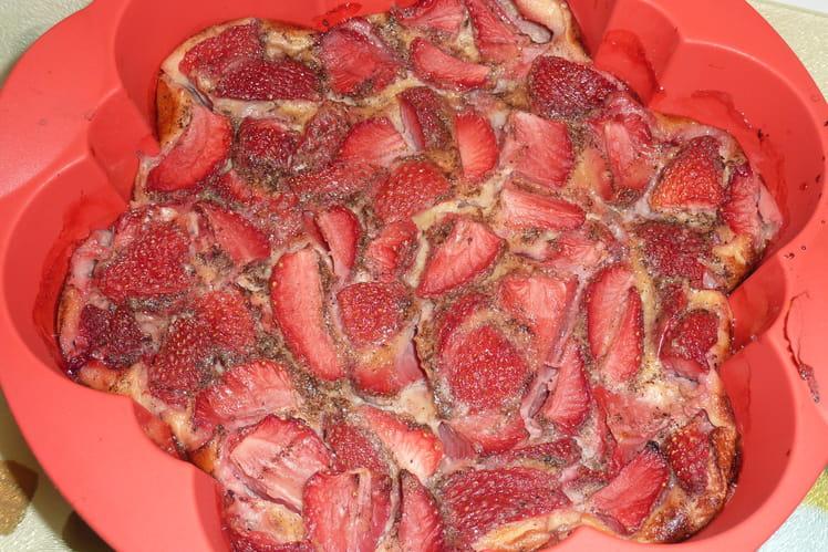 Clafoutis aux fraises simple et rapide