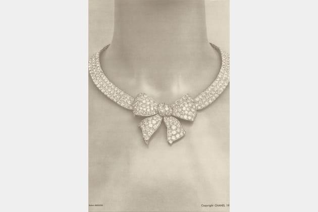 """Le collier """"Nœud"""" de la collection Bijoux de Diamants de 1932"""
