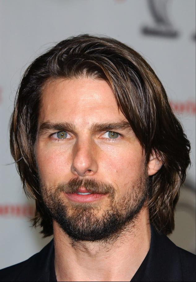 Tom Cruise avec une barbe