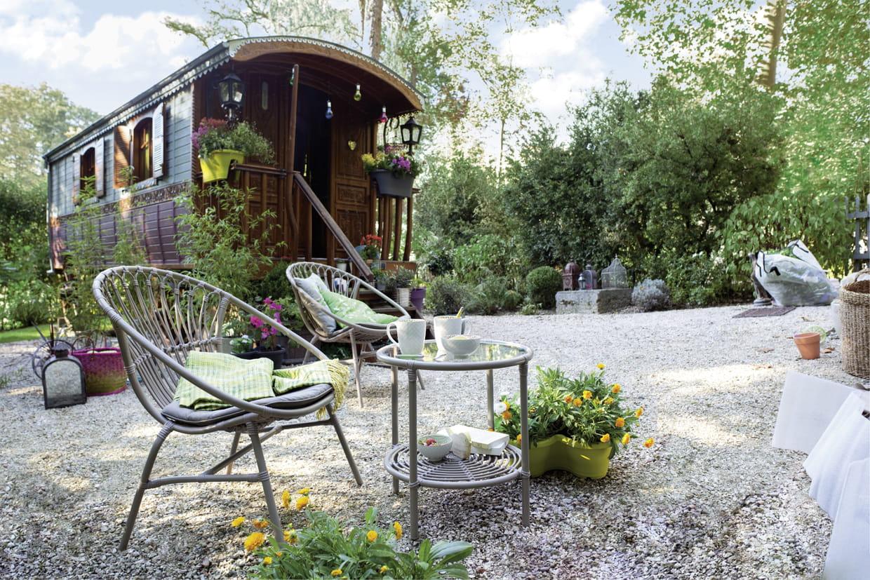 Fauteuil d 39 ext rieur alma de jardiland for Alma de jardin pacheco