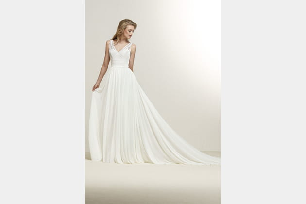 Robe de mariée Dramia de Pronovias
