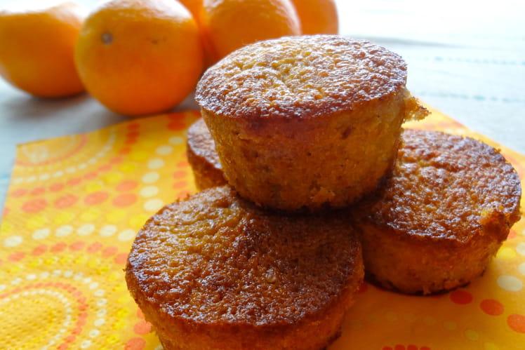 Mini muffins aux clémentines et châtaignes