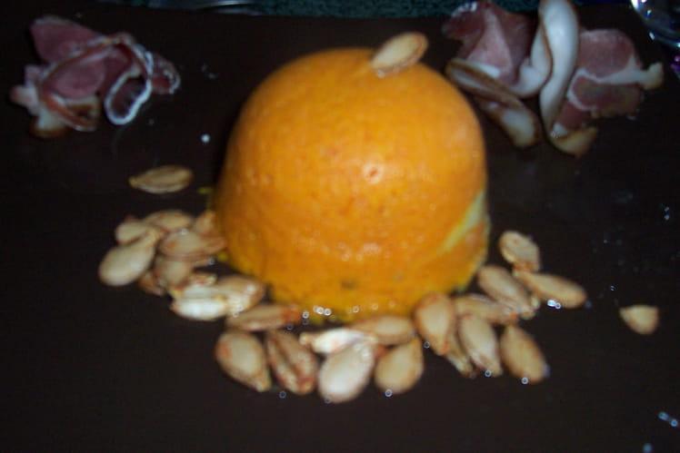 Dômes de potiron au gingembre