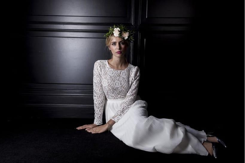 50robes de mariée en dentelle