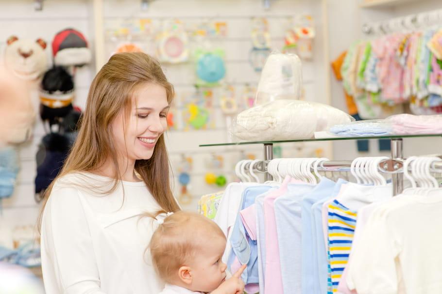 Les magasins de vêtements pour enfants non essentiels?