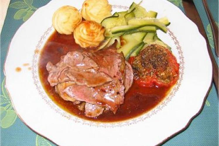 Recette de millefeuille de boeuf au foie gras la recette - Cuisiner le foie de boeuf ...