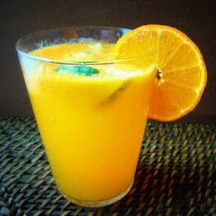 pétillant de clémentines au citron vert