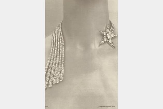"""Le collier """"Comète"""" de la collection Bijoux de Diamants de 1932"""