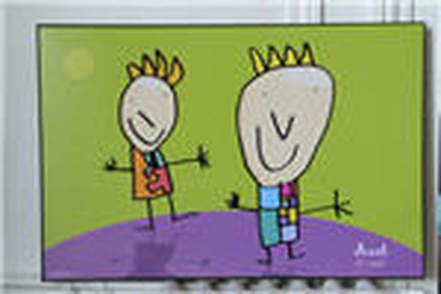 Envoyez-nous la meilleure photo de votre enfant avec son papa et gagnez son dessin en oeuvre d'art !