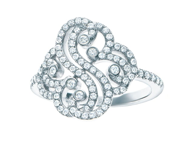 "Bague ""Double Coeur - Collection Tiffany Enchant"" de Tiffany & Co."