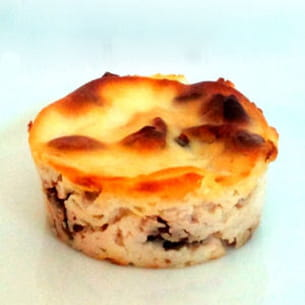petits flans gourmands au fromage blanc